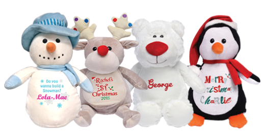 Personalised Cuddly Toys