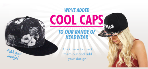 Graphic Caps now available